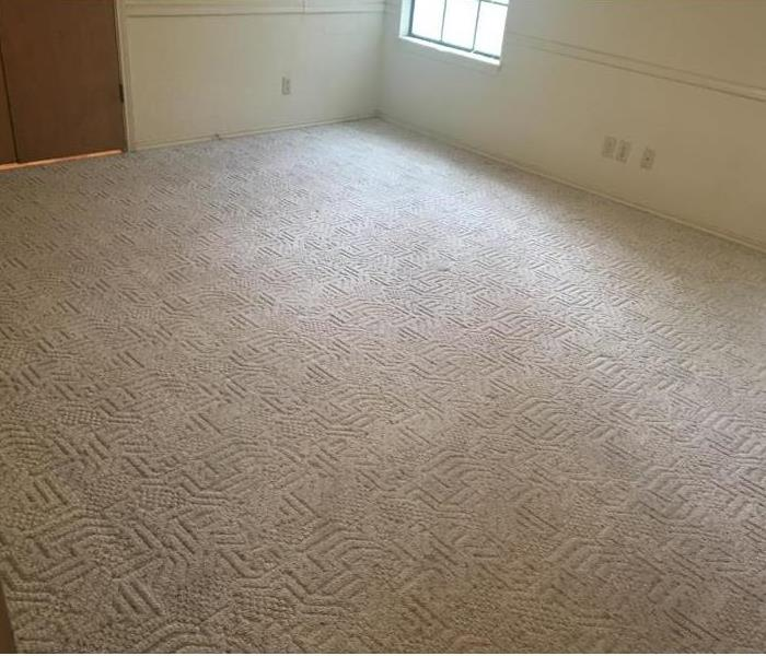 Carpet Cleaning in San Antonio - what a difference SERVPRO makes! After