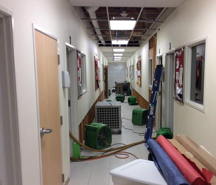 Commercial Water Damage Leon Springs