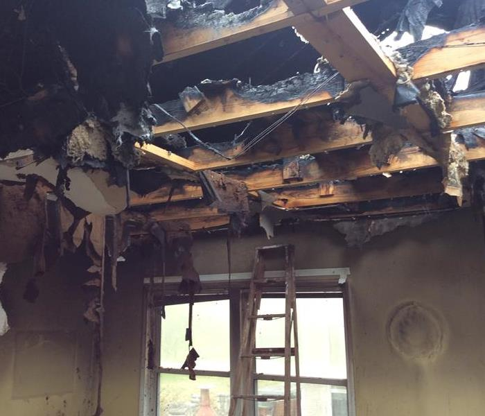 Fire Damage in Boerne, TX
