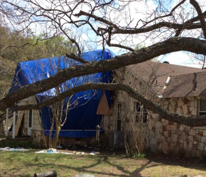 Storm Damage in Kerrville, TX